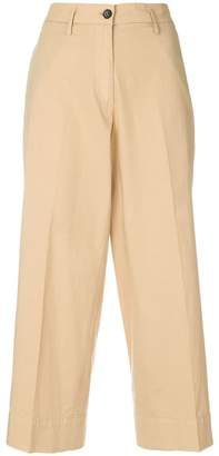 Barena flared cropped trousers