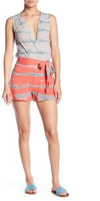 Young Fabulous & Broke Wave Patterned Romper
