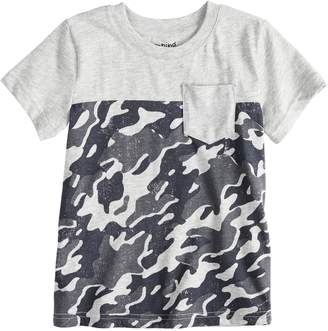Baby Boy Jumping Beans Camouflaged Pocket Tee