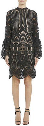 Bardot Emmie Lace Embroidered Dress $159 thestylecure.com
