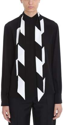 Givenchy Black Crepe De Chine Shirt