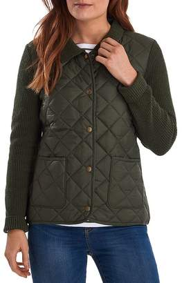 Barbour Moors Knit & Quilted Jacket