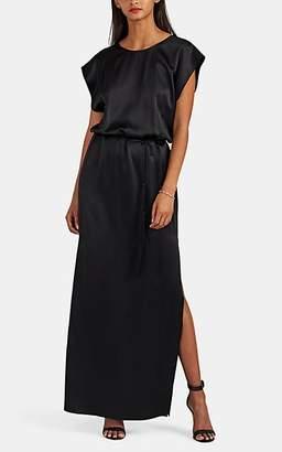 Nili Lotan Women's Lillian Silk Charmeuse Gown - Black