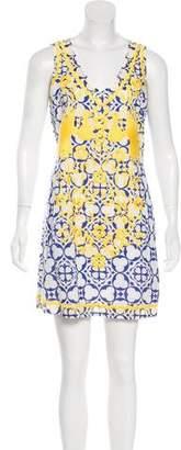 Tory Burch Sleeveless Printed Mini Dress