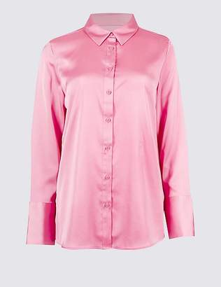 Marks and Spencer Deep Cuff Sleeve Shirt
