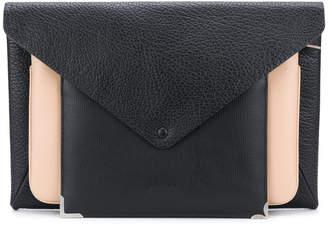 Maison Margiela colour-block envelope clutch