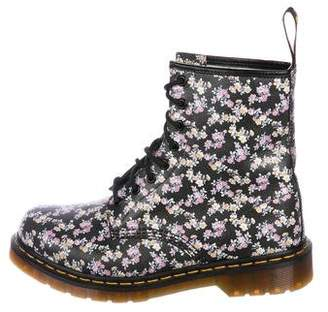 Dr. Martens Printed Leather Ankle Boots