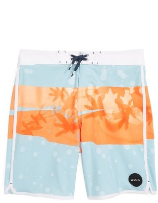Boy's Rvca Chopped Board Shorts $50 thestylecure.com