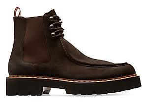 Bally Men's Lyons Suede Loafer Chelsea Boots