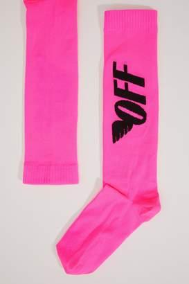 Off-White Off White Fluorescent socks