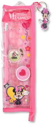 DISNEY MINNIE MOUSE Disney Minnie Mouse Unisex Pink Strap Watch-Mn40009jc