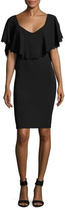 Dress the Population Women's Delilah Solid Dress