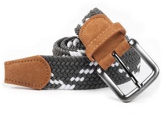 The Tie Bar Braided Zig-zag