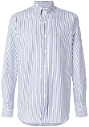 Bagutta striped button down shirt