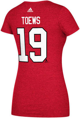 adidas Women Jonathan Toews Chicago Blackhawks Player T-Shirt