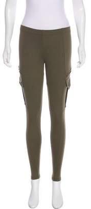 David Lerner Low-Rise Skinny Leggings