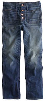 J.CrewPoint Sur vintage patch-pocket cropped jean