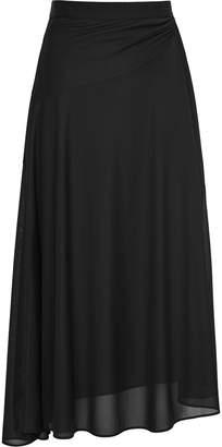 Reiss Mora - Midi Skirt in Black