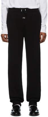 Balmain Black Cashmere Lounge Pants