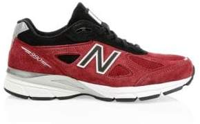 New Balance Running 990V4 Suede Sneakers
