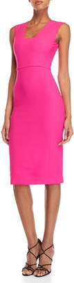 Antonio Berardi Bright Pink Pencil Dress