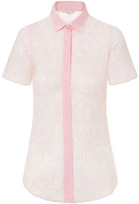 Sophie Cameron Davies - Pale Pink Lace Shirt