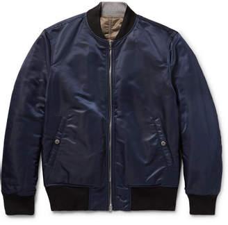 Rag & Bone Manston Reversible Nylon Bomber Jacket