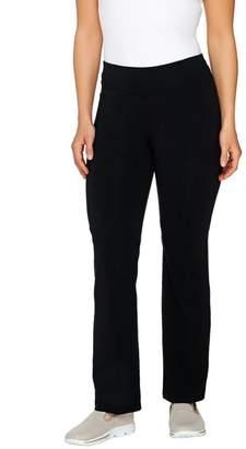 Denim & Co. Active Regular Duo-stretch Slightly Boot Cut Pants
