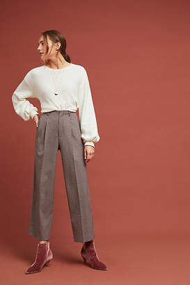 Velvet by Graham & Spencer Benni Cropped Wide-Leg Trousers