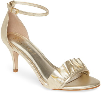 Lilly Pulitzer Carly Ruffle Ankle Strap Sandal
