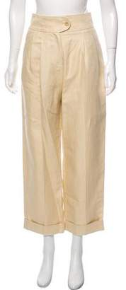 Cacharel High-Rise Cropped Pants w/ Tags