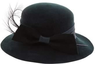 Siggi Felt Bow Feather Hat