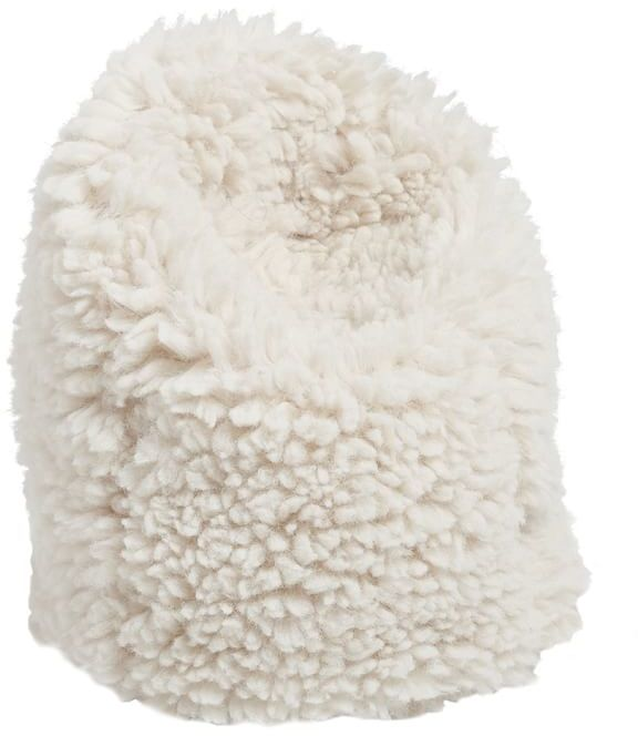 Faux Fur Beanbag Cell Phone Holder 3
