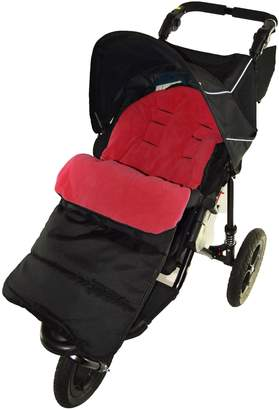 For Your Little One Footmuff/Cosy Toes Compatible with Mountain Buugy Terrain Pushchair Fire Red
