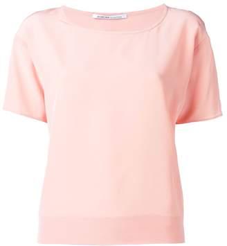 Agnona round neck blouse