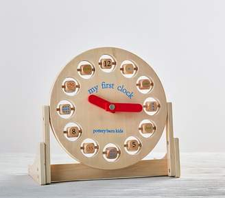 Pottery Barn Kids Learn to Tell Time Clock