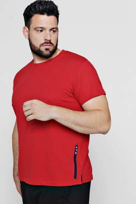 boohoo Big And Tall MAN Sport Logo Placement T-Shirt