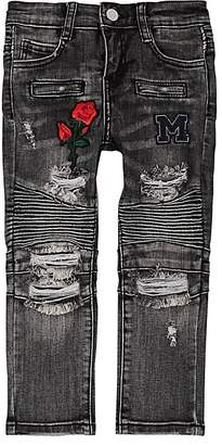 Moto Haus of JR Kids' Embroidered Jeans