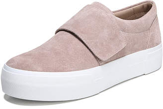 Vince Cage Sport Suede Grip-Strap Sneakers