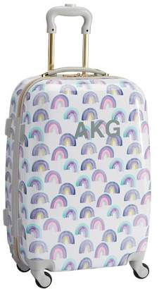 Pottery Barn Teen Hard-Sided Rainbow Carry-On Spinner, 22&quot