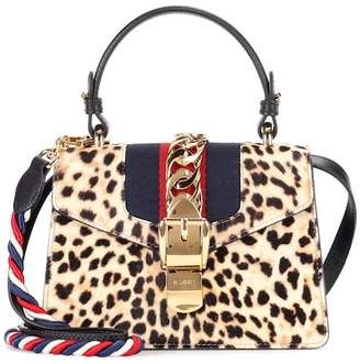 Gucci Sylvie Mini calf hair shoulder bag