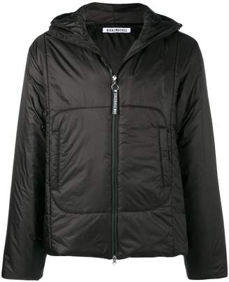 Dirk Bikkembergs hooded padded jacket