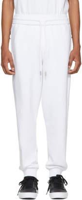 Off-White White Firetape Sweatpants