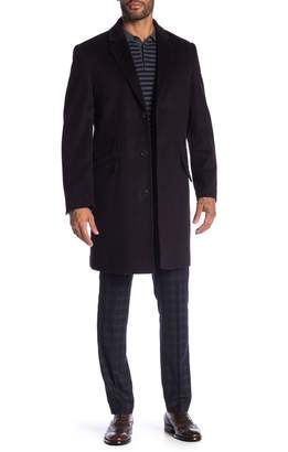 Hart Schaffner Marx Wool Blend Shelby Longline Overcoat