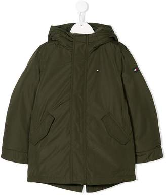 Tommy Hilfiger (トミー ヒルフィガー) - Tommy Hilfiger Junior hooded shell jacket