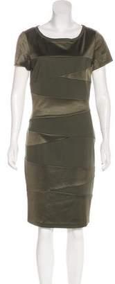 Diane von Furstenberg Trapp Bodycon Dress