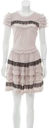 RED Valentino Wool Mini Dress