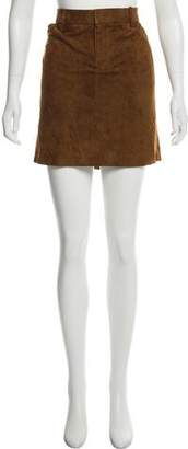 Ralph Lauren Suede Mini Skirt w/ Tags