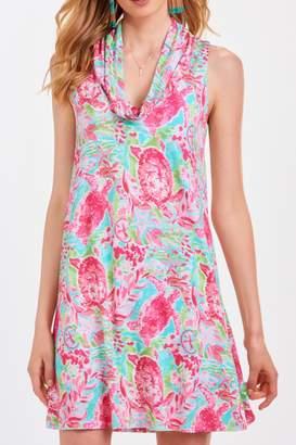 Paige Charlie Printed Tunic Dress