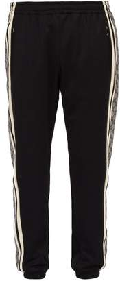 Gucci Gg Logo Track Pants - Mens - Black Multi